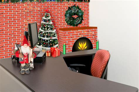 ideas  christmas cubicle decorations lovetoknow