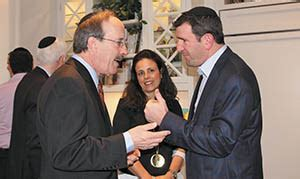norpac hosts rep eliot engel  ny  teaneck