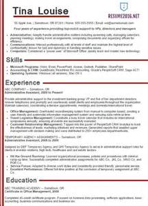 2016 Administrative Assistant Resume Sample