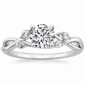 Vine engagement ring willow brilliant earth for Diamond wedding ring settings