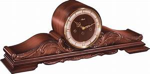 Pendule à Poser : pendule poser m canique de style en bois cisel queensway ~ Teatrodelosmanantiales.com Idées de Décoration