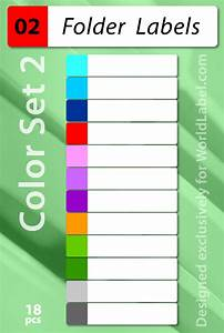 file folder labels in printable templates worldlabel blog With colored file folder labels