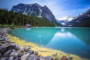 Nature, Beauty, Blue, Water, Forest, House, Lake, Landscape, Mountain, Photo, Reflection, Stone