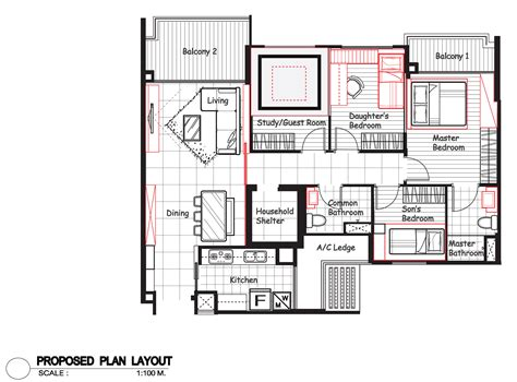 room design floor plan hdb interior design singapore