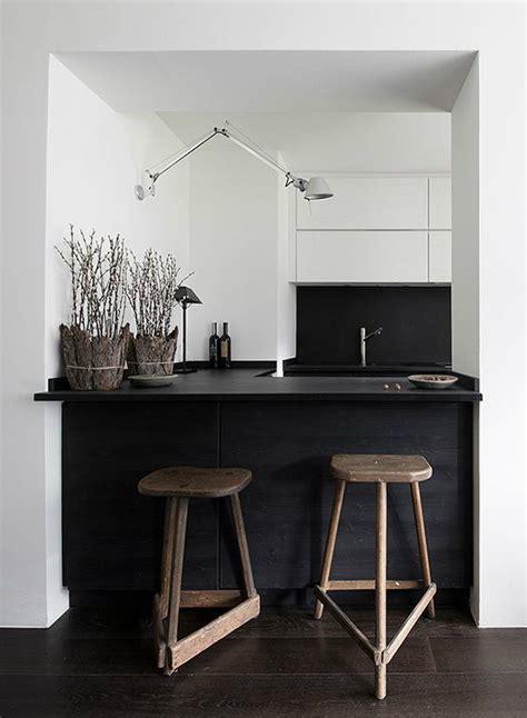 inspired black  white kitchen designs decoholic