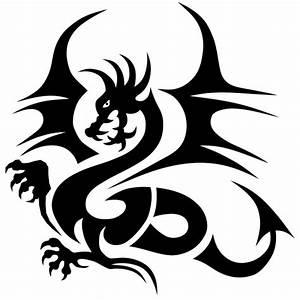 Drachen Schwarz Weiß : tanzender drache hot and cool autoaufkleber ~ Orissabook.com Haus und Dekorationen
