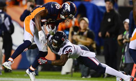denver broncos  houston texans overunder  nfl picks