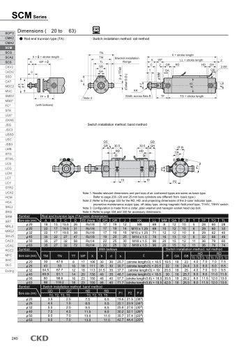 Rodless cylinder SRL3 - CKD - PDF Catalogs | Technical