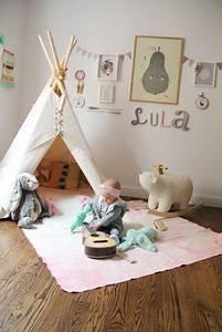 Tipi Bebe Fille : un tipi pour une chambre d enfant ~ Teatrodelosmanantiales.com Idées de Décoration