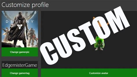 how to make custom gamerpics on xbox one 360 patched
