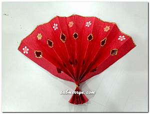 DIY Chinese New Year decorations : Chinese Fan « Home is