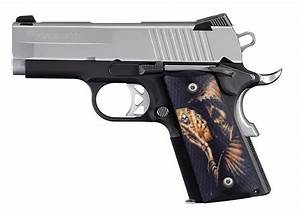 Custom Compact Officer 1911 Grips Ambidextrous Reapers