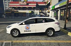 Cambodia National Police Ford Focus Livery