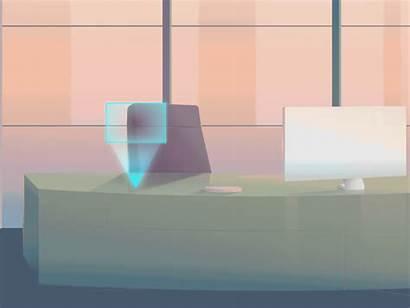 Hologram Test Dribbble Maram Future Digital