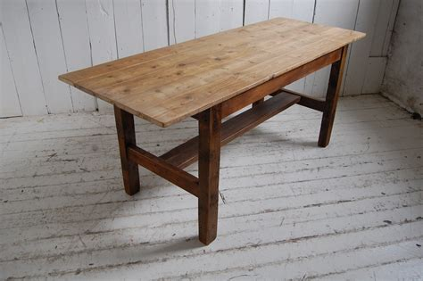 rustic wooden table dining room furniture kitchen