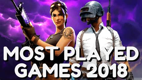 top   popular video games    played games