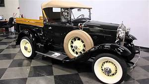 2731 Cha 1931 Ford Model A Roadster Pickup