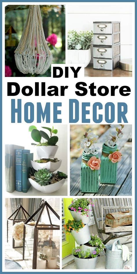 11 Diy Dollar Store Home Decorating Projects  Home Is