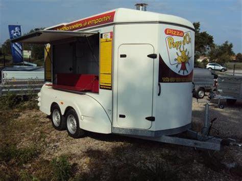 remorque cuisine barbot unique remorque pizzas barbot toute équipée barbot à 21500 34690 fabregues hérault