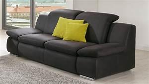 2 Sitzer Sofa : sofa isona 2 sitzer anthrazit mit kopfteilverstellung armteilfunktion ~ Frokenaadalensverden.com Haus und Dekorationen