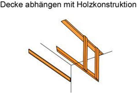 Decke Abhängen Material Und Anleitung