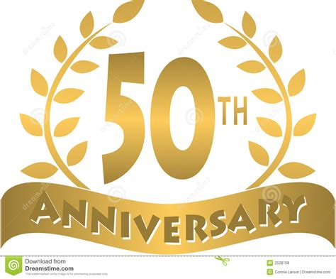 50 year anniversary 50th business anniversary clipart