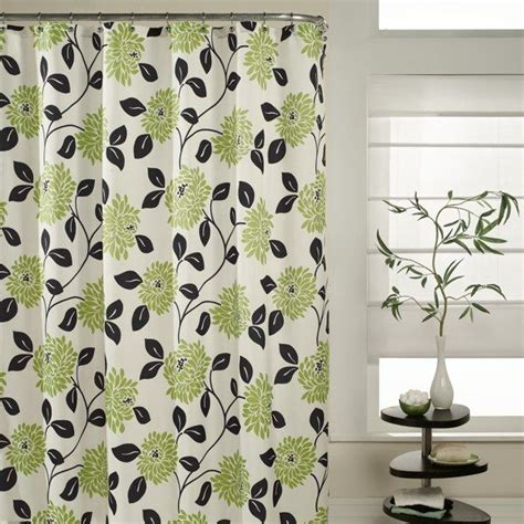 black and green shower curtain lime green and black shower curtain curtain menzilperde net