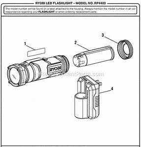 Ryobi Rp4400 Parts List And Diagram   Ereplacementparts Com