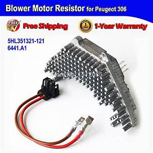 Fast Shipping Blower Motor Resistor   Wire Harness For