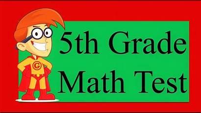 Math 5th Grade Test Questions Simple Fail