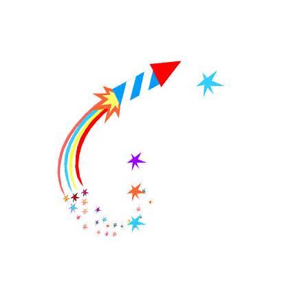 Celebration Clip Celebrate Clipart Fireworks Border Cliparts
