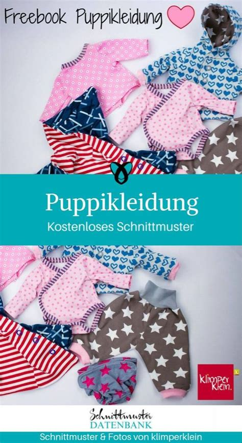 puppikleidung schnittmuster puppenkleidung
