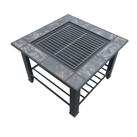 pit grill table 3in1 outdoor garden cing patio pit bbq table grill