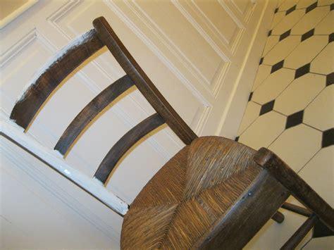 chaises paille table rabattable cuisine chaise en paille