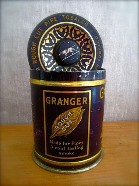 Antique TOBACCO TIN, Vintage, Pipe Tobacco, Advertising