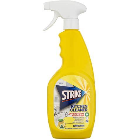 Strike Kitchen Cleaner Antibacterial Lemon Crush 600ml