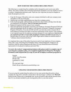 cute workplace policy template photos example resume With drug free workplace policy template