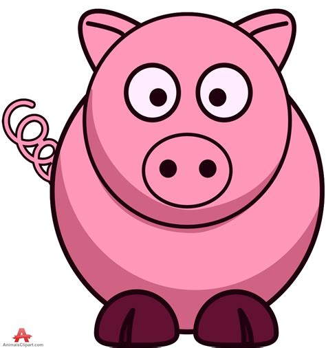 Pig Clip Pigs Clipart Clipart Collection Pink Pig Clipart Size