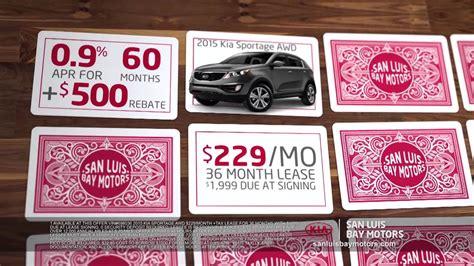 San Luis Bay Motors Kia by San Luis Bay Motors Kia Is Dealing Out The Savings