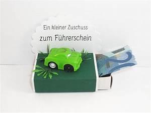 Geschenk Zum Führerschein : geldgeschenk streichholzschachtel f hrerschein von mafi ~ Jslefanu.com Haus und Dekorationen