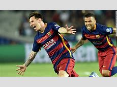 Lionel Messi resigns with FC Barcelona through 2021 CNN