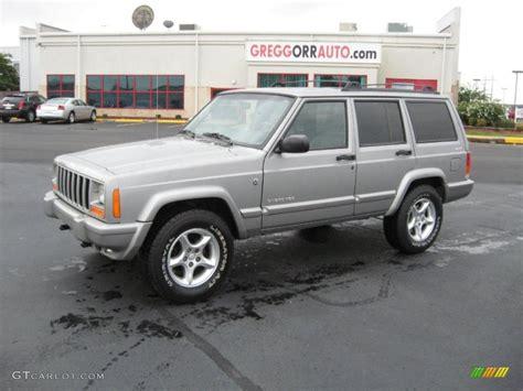 2001 silverstone metallic jeep sport 4x4 36064105 gtcarlot car color galleries