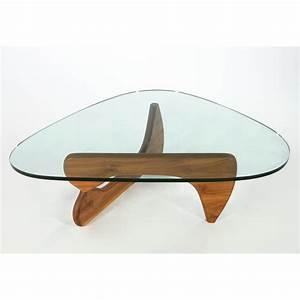 Isamu noguchi herman miller walnut coffee table for Herman miller coffee table