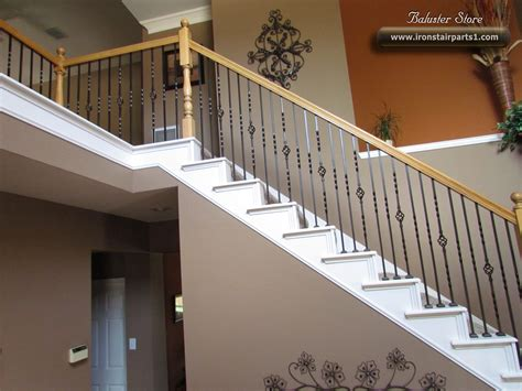 iron banisters high quality powder coated iron stair parts ironman1821
