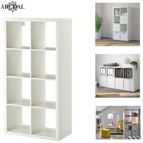 Ikea Bookcases And Shelves by Ikea Kallax White 8 Shelving Unit Display Storage