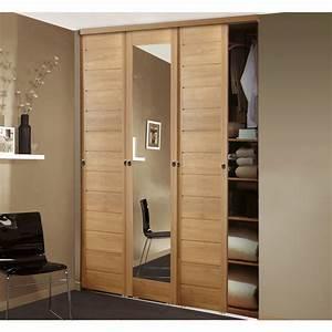 superieur porte placard coulissante recoupable 12 With porte coulissante miroir recoupable