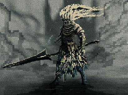 Souls Dark King Nameless Fanart Pixel Soul