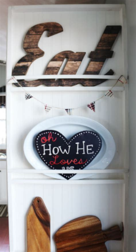 diy kitchen plate rack wall   carli