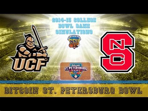 Or browse our site to find your next event from the 100,000 listed here. BTC: Bitcoin St. Petersburg Bowl Sim NC State vs UCF (NCAA Football Xbox )