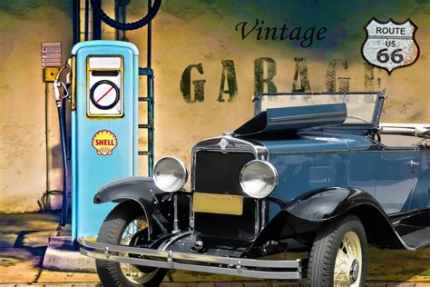 Vintage Garage Free Stock Photo  Public Domain Pictures